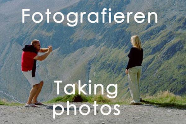 Fotografieren 1, Taking photos 1, Photogallery
