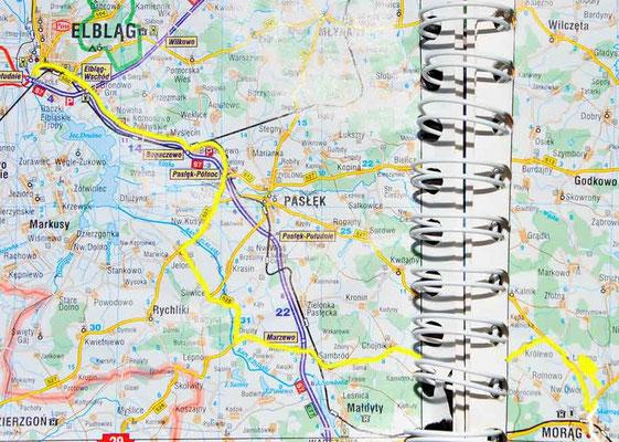 Tag 21: Morąg - Elbląg
