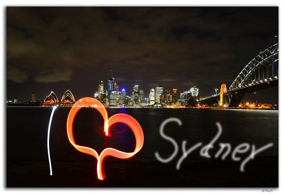 AU1682.Sydney.Opera + Harbour Bridge