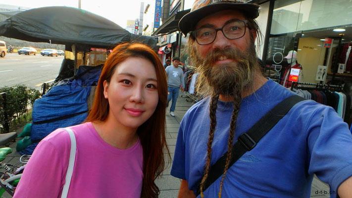 KR:Seoul, Rim und David