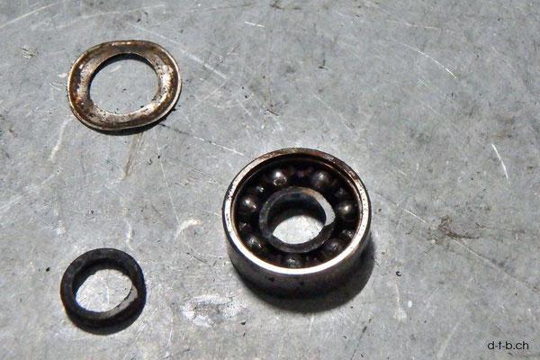 AU: Albany. Solatrike Vordermotor. Kugellager ersetzen