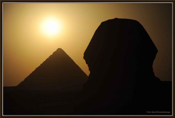 EG013.Pyramide und Sphinx.Gizeh