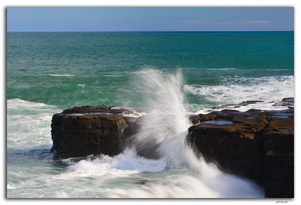 NZ0920.Curio Bay,Wave