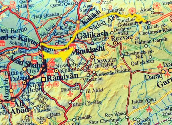 Tag 195: Gonbad Kavus - Dasht
