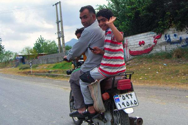 Iran: Motorrad 2