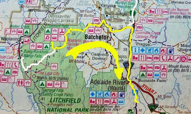 Tag 284: Florence Falls - Marumba