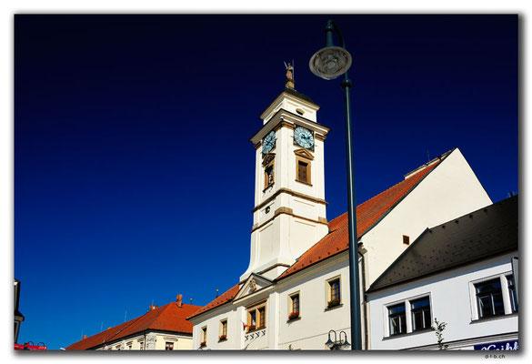 Tschechien.Uherský Brod.Rathaus