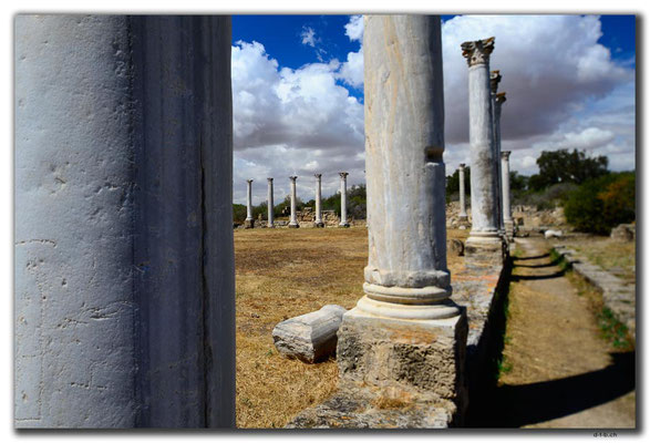 TR0570.Salamis.Columned Courtyard