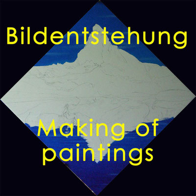 Bildentstehung / Making of paintings