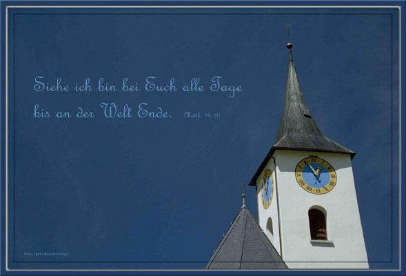 S0018,Kirche Serneus,CH.Matthäus 28.20