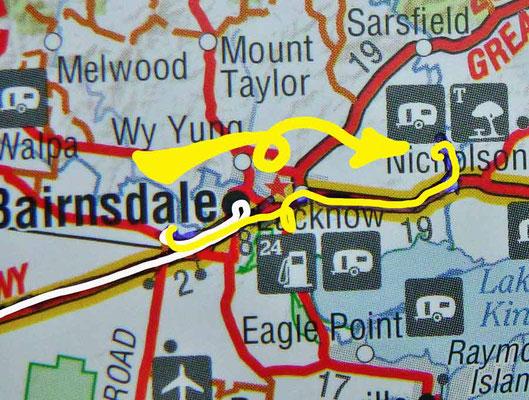 Tag 436: Bairnsdale - Nicholson