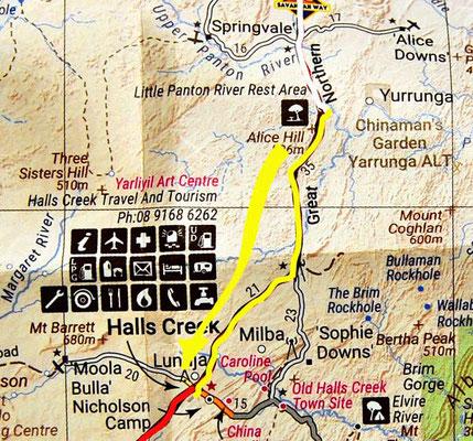 Tag: 303: Little Panton River - Halls Creek