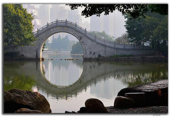CN0429.Shenzhen.Brücke im Litschi-Park