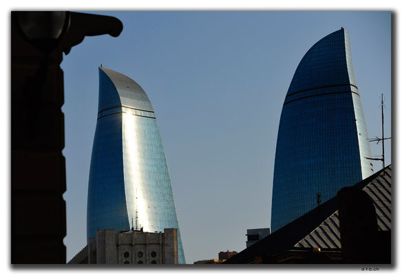AZ067.Baku.Flame Towers