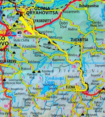 Tag 78: Gorna Oryahovits - Elena