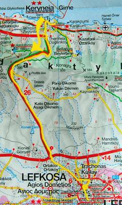 Tag 142: Girne - Nicosia