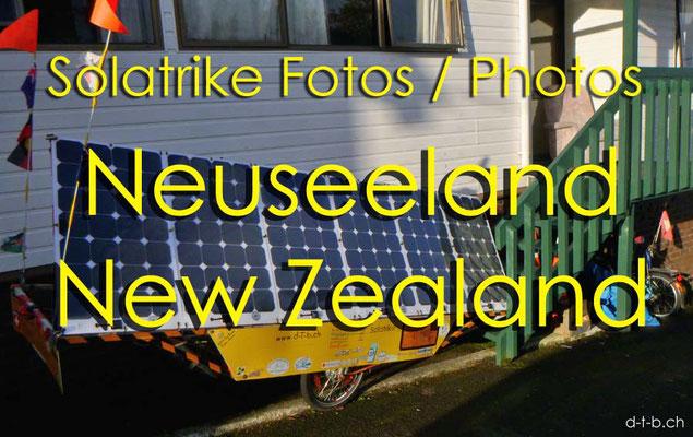 Fotogalerie Solatrike Neuseeland / Photogallery Solatrike New Zealand