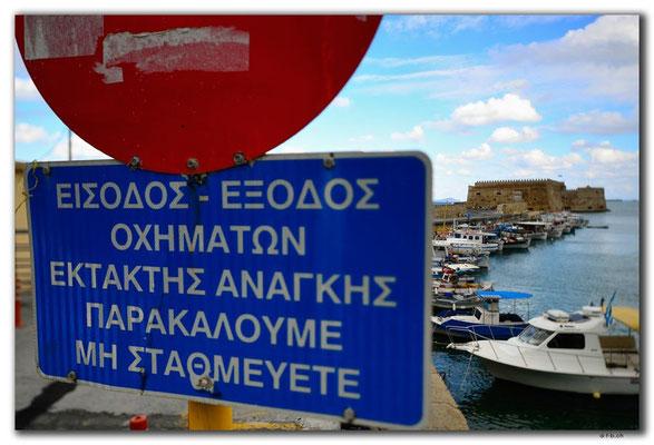 Griechenland.Kreta.Heraklion.Kastro Koules