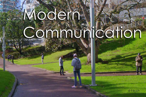 Neuseeland.Auckland.Modern Communication