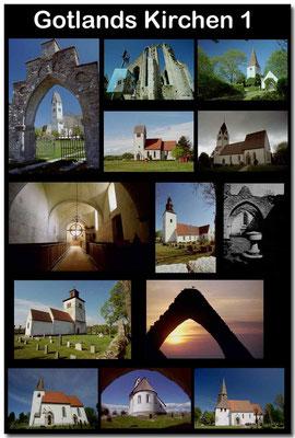 Gotland Kirchen 1 / Gotland churches 1