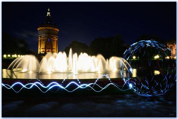 DE009 Wasserturm.Mannheim