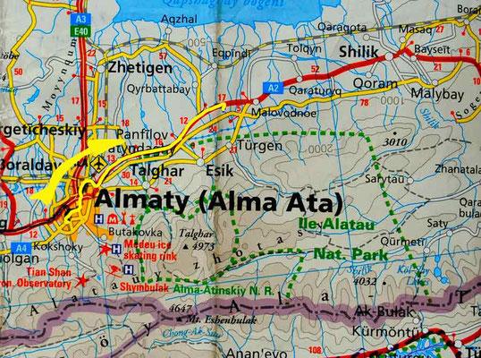 Tag 215: Almaty - Enbek
