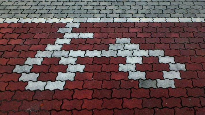 KR: Veloweg-Markierung in Busan