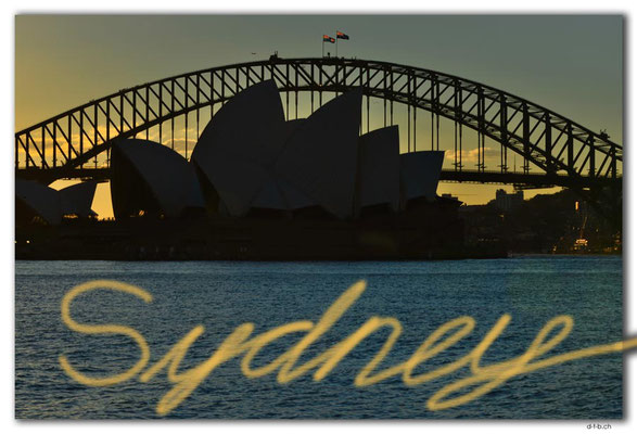 AU1629.Sydney.Opera House & Harbour Bridge