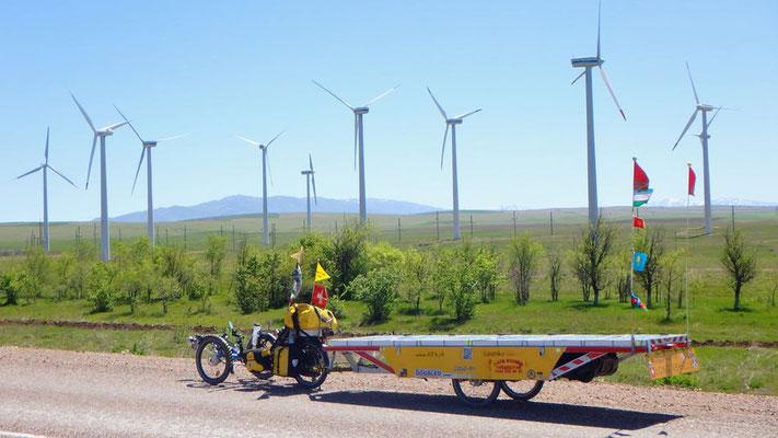 Solatrike.KZ.Windpark
