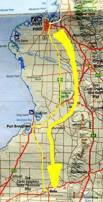 Tag 406: Port Pirie - Bute