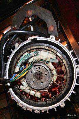 AU: Denmark. Solatrike Vordermotor Kabel löten