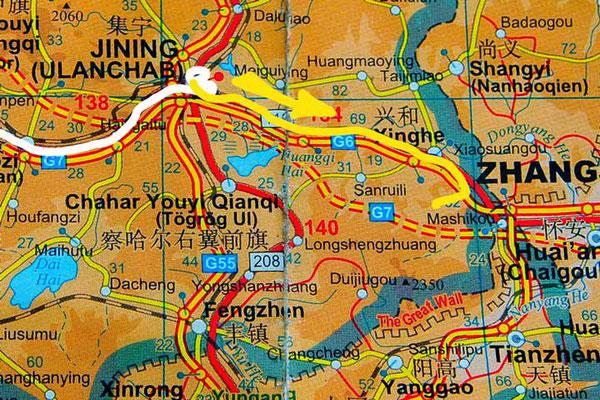 Tag 259:  Jining 集宁区 -  Sancha Yushugou 三岔榆树沟