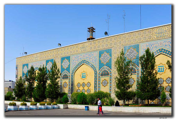 IR0386.Mashhad.Holy Shrine.Beautiful facade