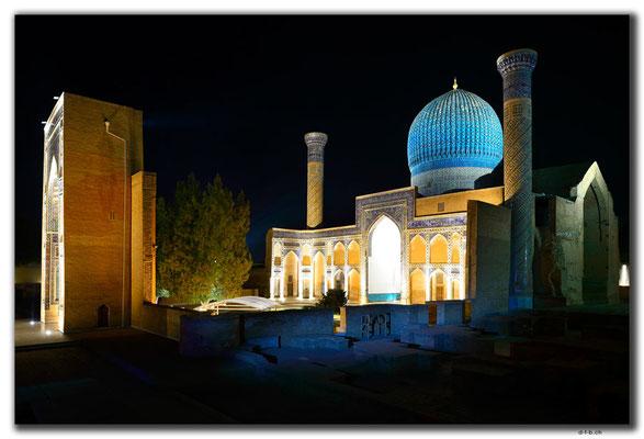 UZ0122.Samarkand.Amir Temur Mausoleum