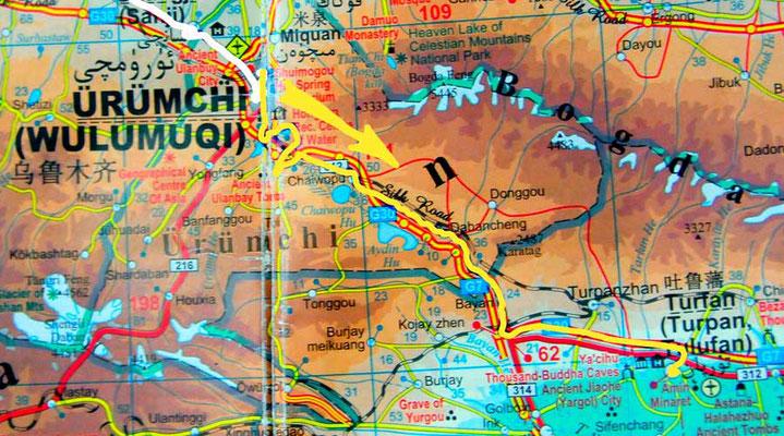 Tag 228: Ürümqi - Turfan