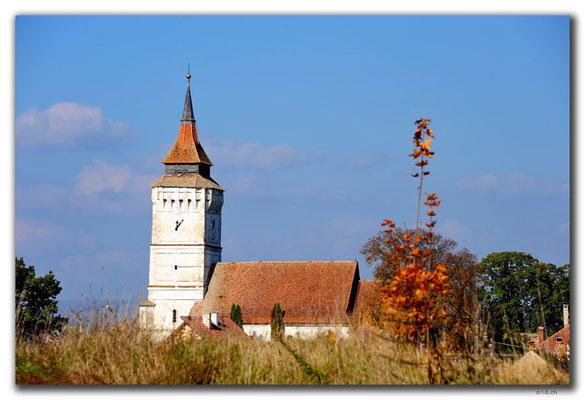 RO0100.Rotbav.Kirche mit Wehrturm