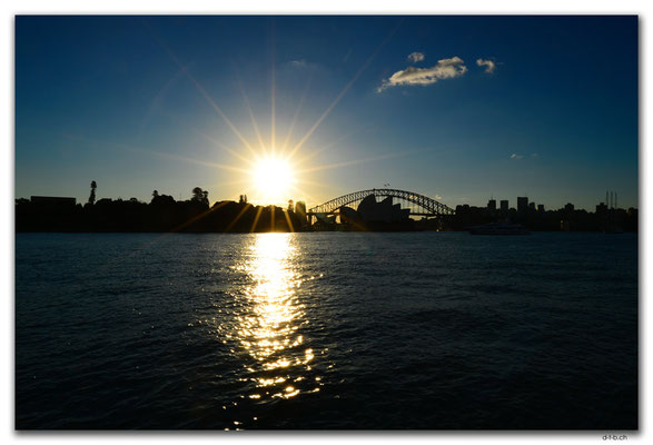 AU1628.Sydney.Opera House & Harbour Bridge
