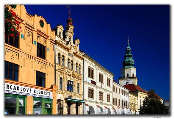 CZ152.Kroměříž.Marktplatz
