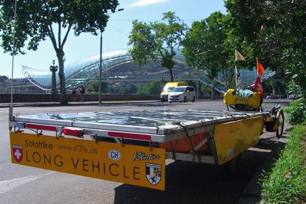 GE: Solatrike beim Verlassen von Tbilisi