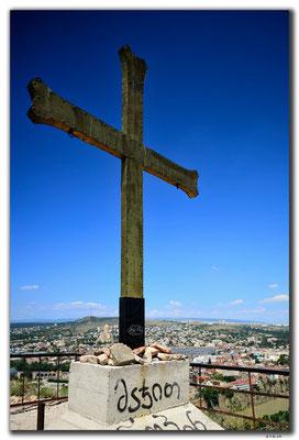 GE0121.Tbilisi.Kreuz der Festung