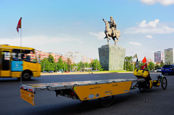 GE: Solatrike Einfahrt in Tbilisi