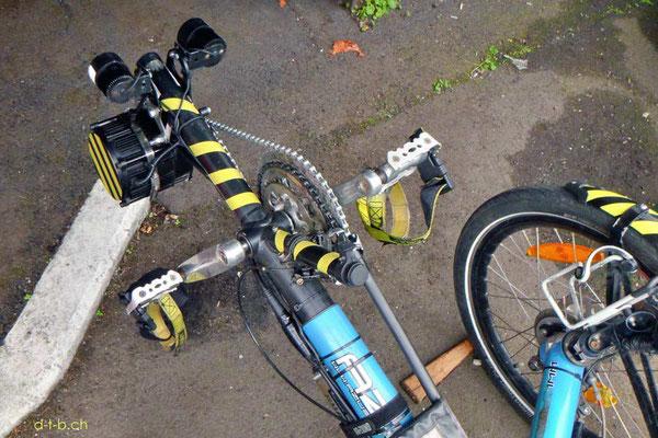 NZ: Solatrike Vordermotor fertig montiert