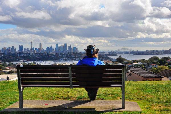 Australien.Aussicht auf Sydney
