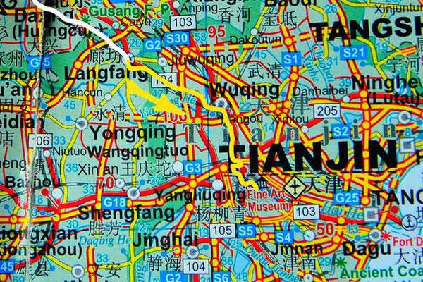 Tag 267:  Langfang 廊坊市 -   Tianjin 天津市 (Hexi 河西区)