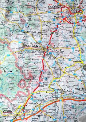 Tag 50: Vyskov - Olomouc