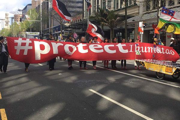 NZ: Auckland Solatrike at Schoolstrike4Climate (Photo: unknown Internet Media)