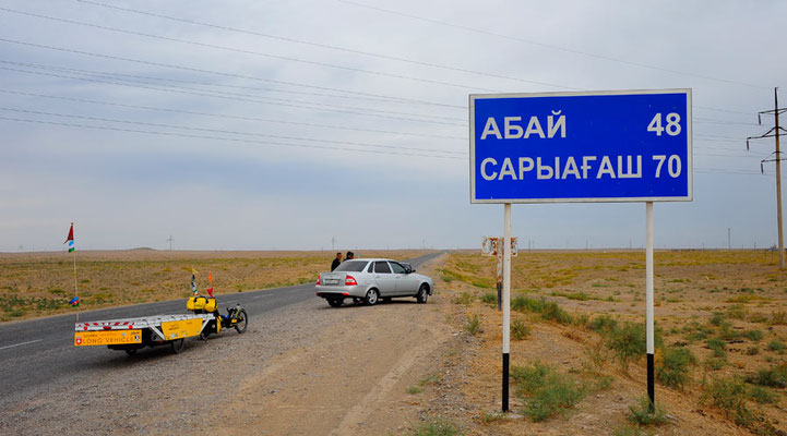 Kasachstan.Strasse1