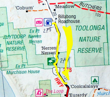 Tag 337: Billabong Roadhouse - 200 Miles Watertanks