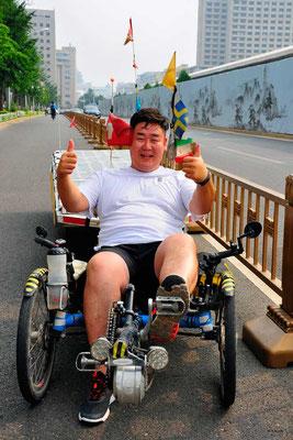 CN.Peking.Darum musste ich beim Solatrike den Sitz nähen