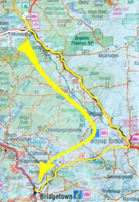 Tag 360: Glen Mervyn Dam - Bridgetown